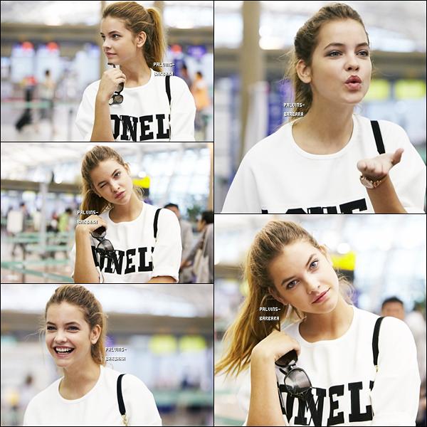 -   29/08/13 Barbara Palvin arrivait à l'aéroport de Séoul afin de prendre l'avion direction Paris.  -