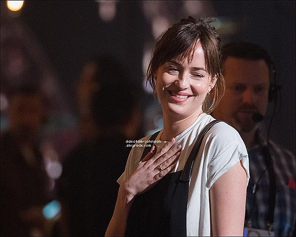 ; EVENTS | Dakota c'est rendu à la répétition pour la cérémonie des Oscars qui aura lieu ce dimanche 22 février 19.02.15..; 2015 à Los Angeles. Comme d'habitude notre Dakota est apparu toute souriante, et naturelle ! ;