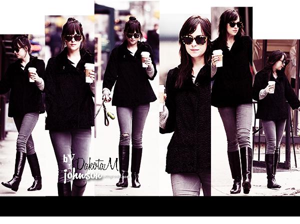 Dakota dans les rues de NYC