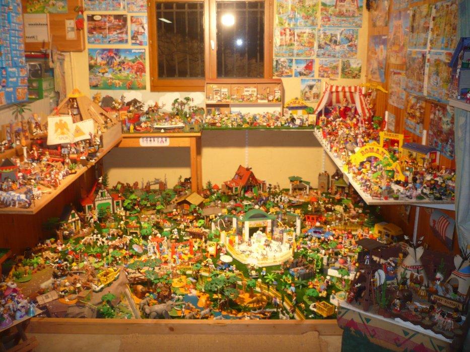 La nouvelle ville des Playmobils !