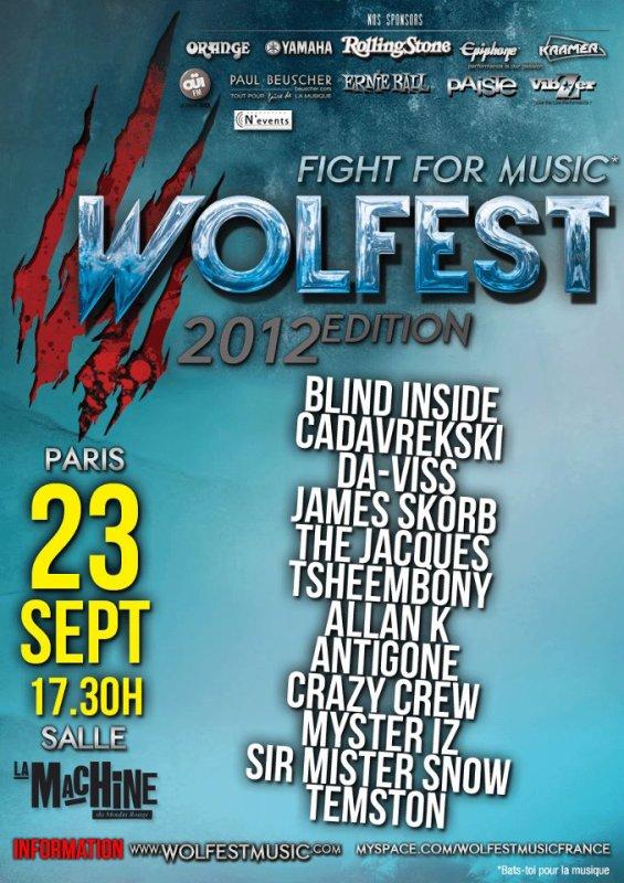 TSHEEMBONY étais en concert au Moulin Rouge à Paris le 23 Septembre.