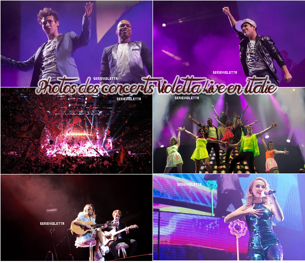 Photos des concerts ViolettaLive + Coulisses
