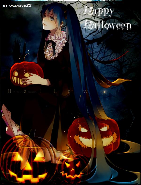 Voici une image que j'avais graphe pour le jour d'Halloween ^^ ( 31/10/2013 )