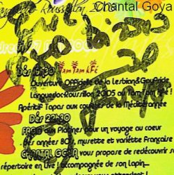 Dédicaces de Chantal Goya 1, 2 & 3