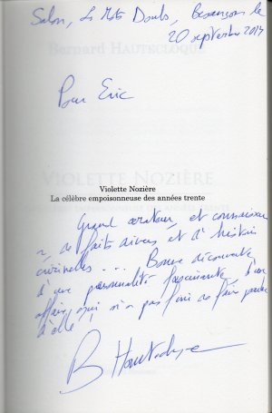 Dédicace de Bernard Hautecloque