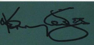 Autographe de Kenny Rogers (Décédé)