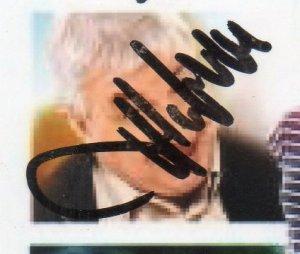 Autographe de Thierry Heckendorn