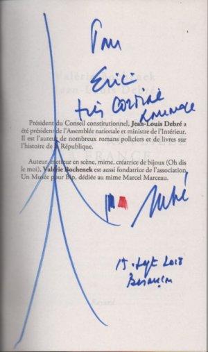 Dédicace de Jean-Louis Debré 2