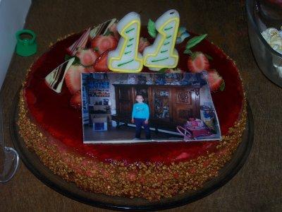 Gateau anniversaire fille 11 ans
