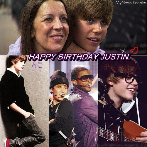 > HAPPY BIRTHDAY JUSTIN <