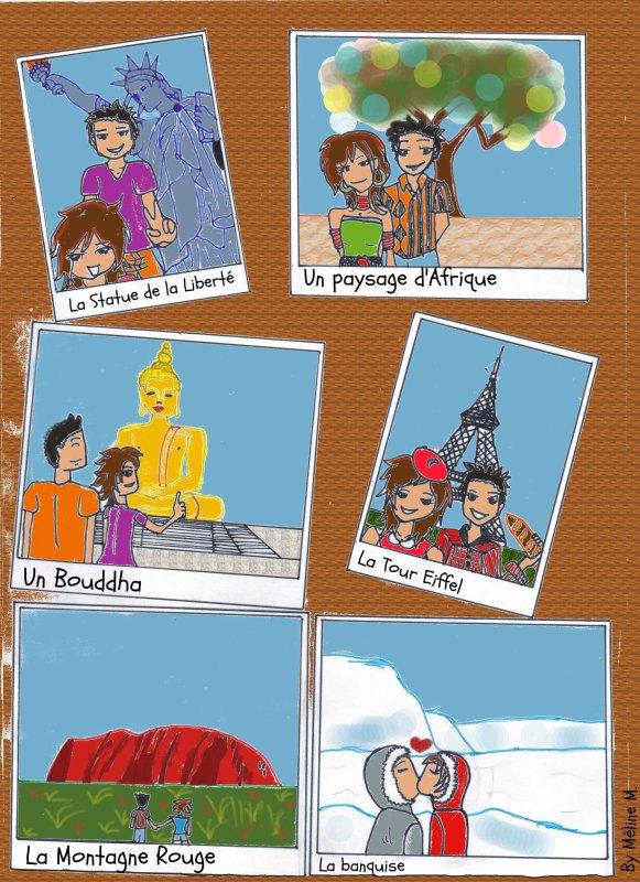 Création 63 - Un Tour du Monde avec Pencil-Flower