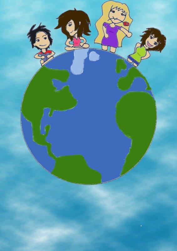 Création 64 - Un Tour du Monde avec Pencil-Flower