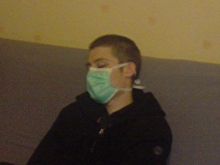 christo en mode gripppe A (Alcoolique)