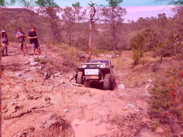 22 Avril - suite préparation terrain trial UFOLEP