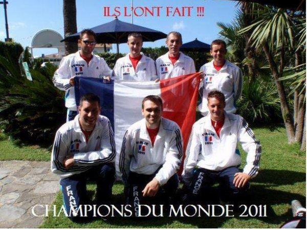*Championnat du monde 2011 en surfcasting