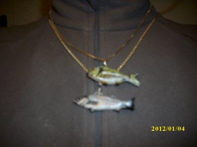 mes poissons favoris en pendentifs
