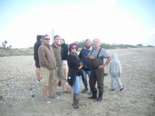 Week-end pêche à la colonie de vacances aux Aresquiers ( suite )