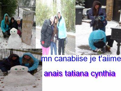 cynthia anais mon canabise et tatiana jvous aiiiimee