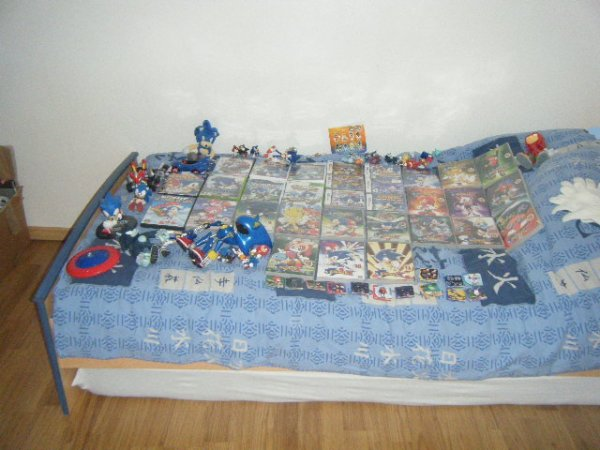 Ma (super !) collection de Sonic ! ^^