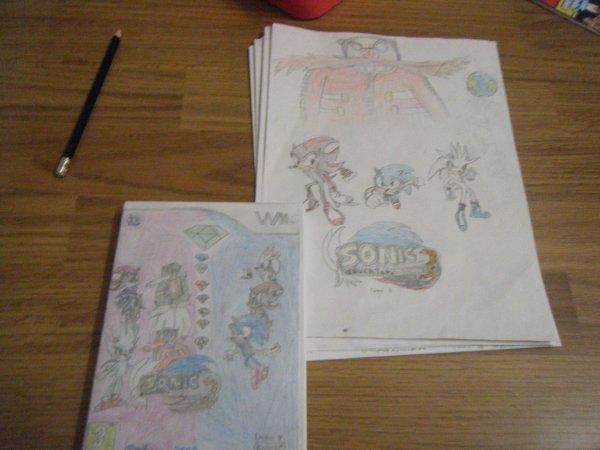 Sonic Adventure 3 (ma fic) MON jeu