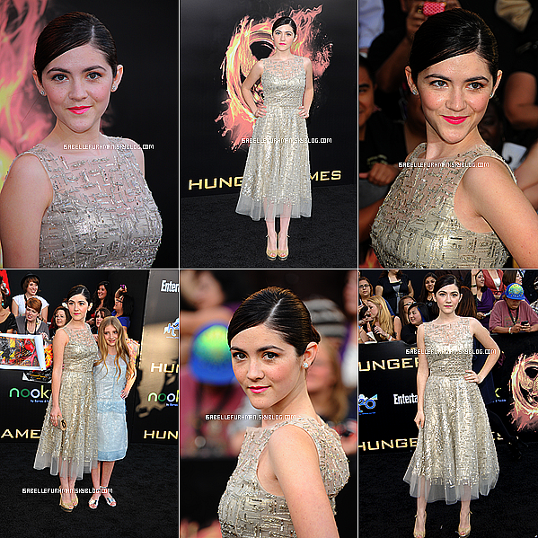 "-  FLASH BACK Avant Première ""The Hunger Games"" : Los Angeles  -"