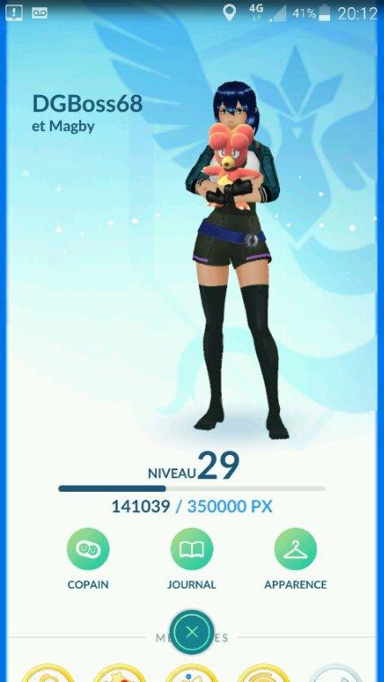 Avec la nouvelle màj Pokémon Go, vos bébés Pokémon dans les bras