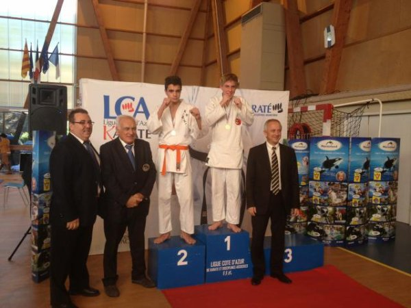 COUPE DE LIGUE KARATE SEMI-CONTACT SAINTE MAXIME NOVEMBRE 2014