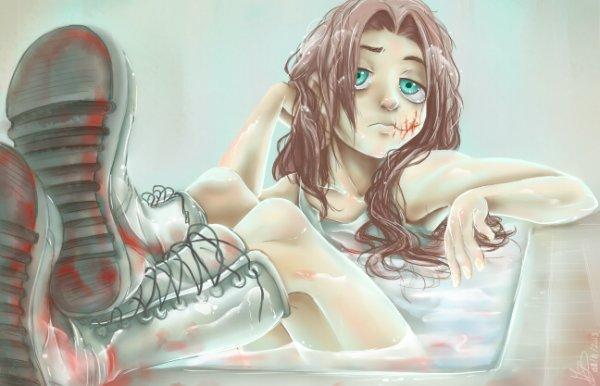 Scarface prend un bain ? et oui ça arrive ...