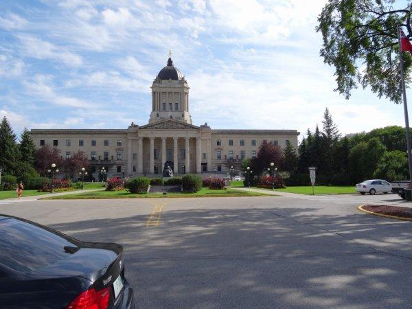 Le parlement du Manitoba