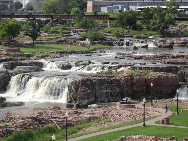 Sioux falls dans la ville de Mitchell