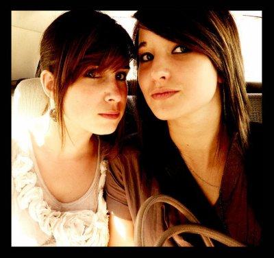 Une amie, rien qu'une amie c'est aussi précieux qu'une vie... <3