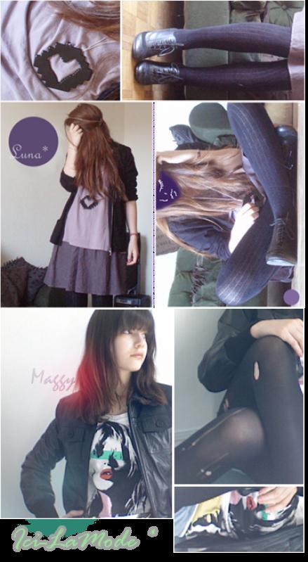 Commencer blog de la mode de l'adolescence