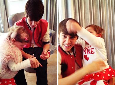 Justin a rencontrer AVALANNA