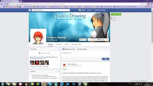 Encore une page FaceBook !