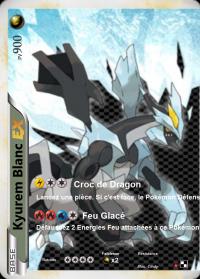 Kyurem noir et blanc double carte cartes pokemon - Carte pokemon kyurem blanc ex ...
