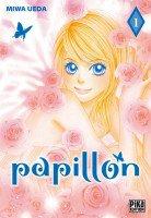 papillon de Miwa Ueda (manga shojo)