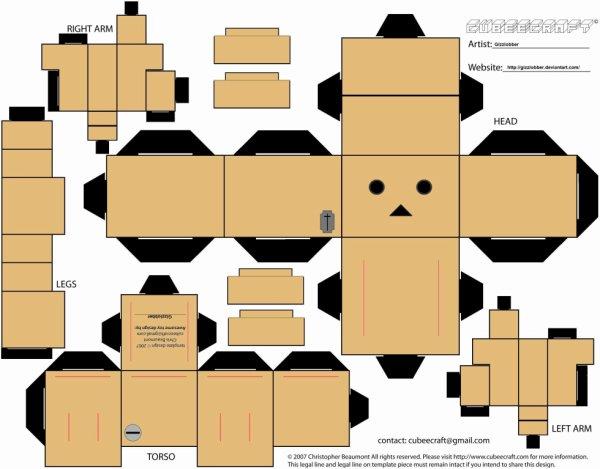petit papercraft trés facile