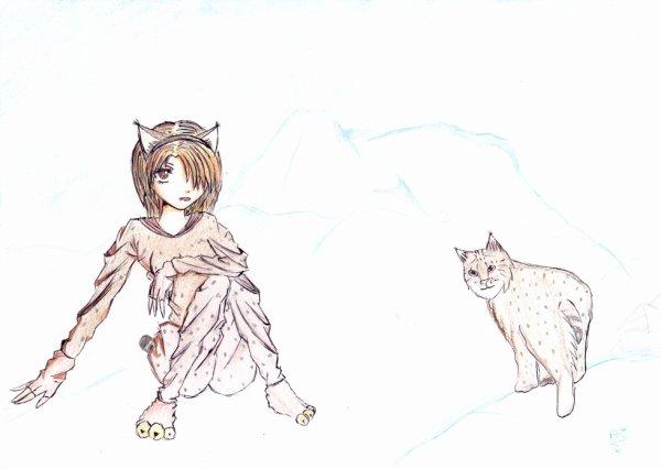 dessin pour concour cosplay d'animal de fan-des_fictions et de monmondedessin