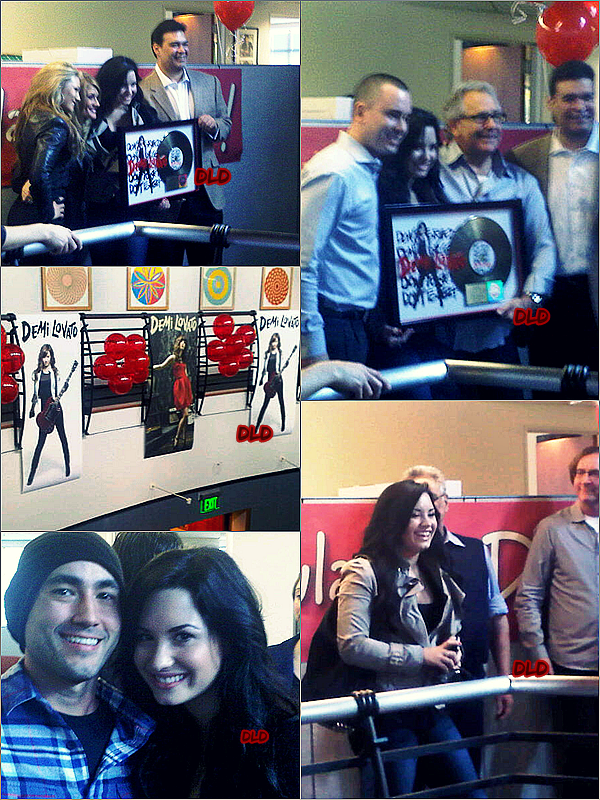 Mercredi 16 février 2011 L'album « Don't Forget » a été certifié disque d'or.