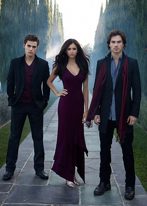 Elena' Damon and Stphane