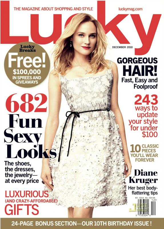 Lucky Magazine Décembre 2010