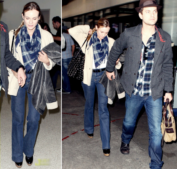 26 Novembre 2010 - Arrive at Lax Airport