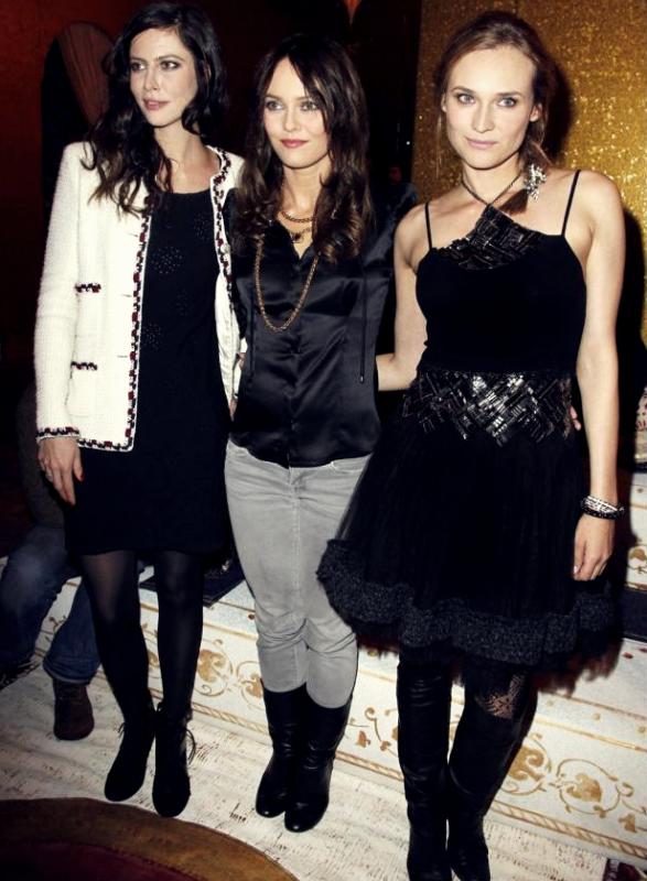 7 Décembre 2010 - Défilé Chanel Paris/Byzance