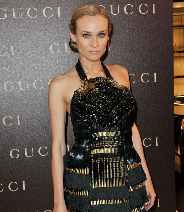 25 Janvier 2011 - Gucci Dinner at the Italian Embassy in Paris