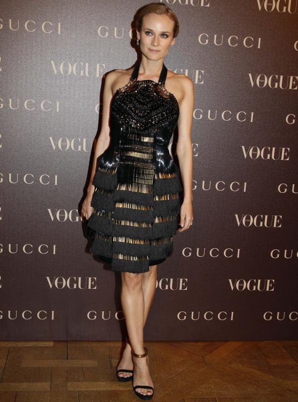 25 Janvier 2011 - Gucci Dinner at the Italian Embassy in Paris