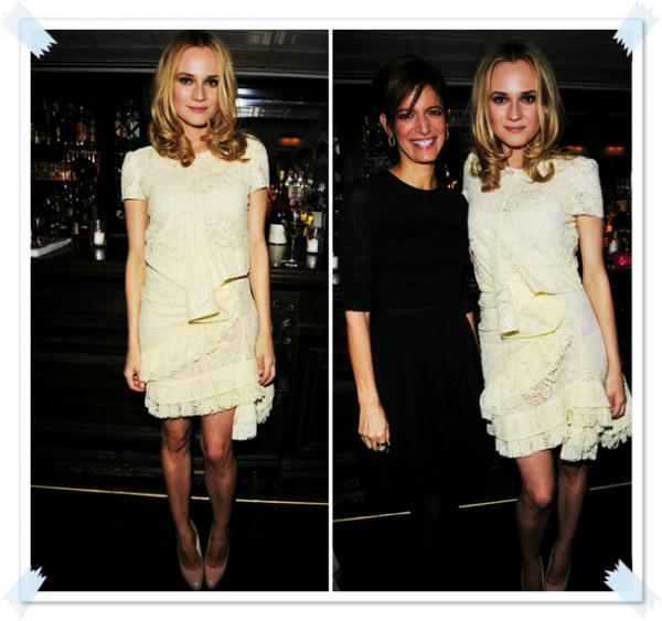 8 Février 2011 - 'Glamour' celebre Diane Kruger (New York)