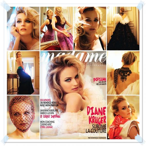 Magazine - Madame Figaro Fevrier 2011