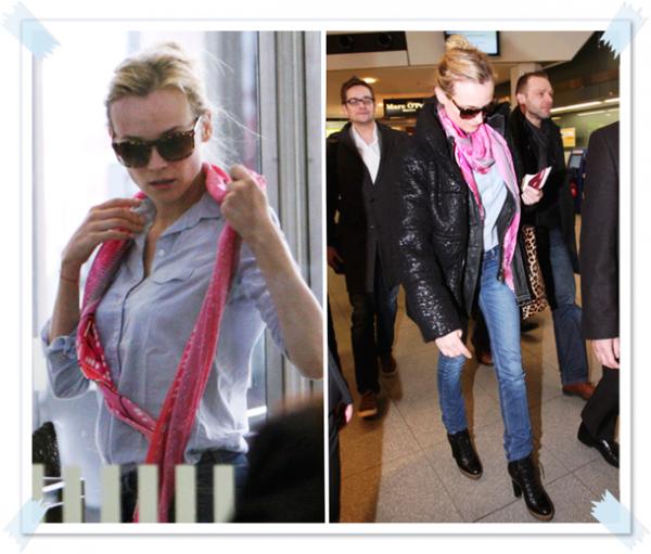 20 Février 2011 - Diane à l'aéroport de Berlin