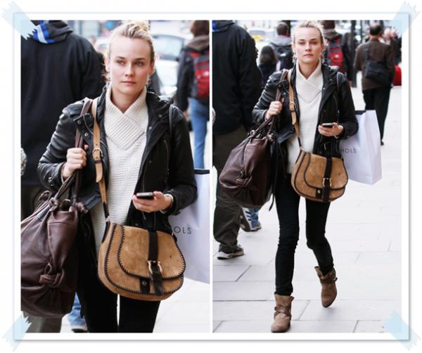 24 Février 2011 - Diane quitte son hôtel à Londres