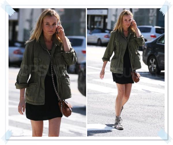 13 Mars 2011 - Diane dans les rues de Los Angeles